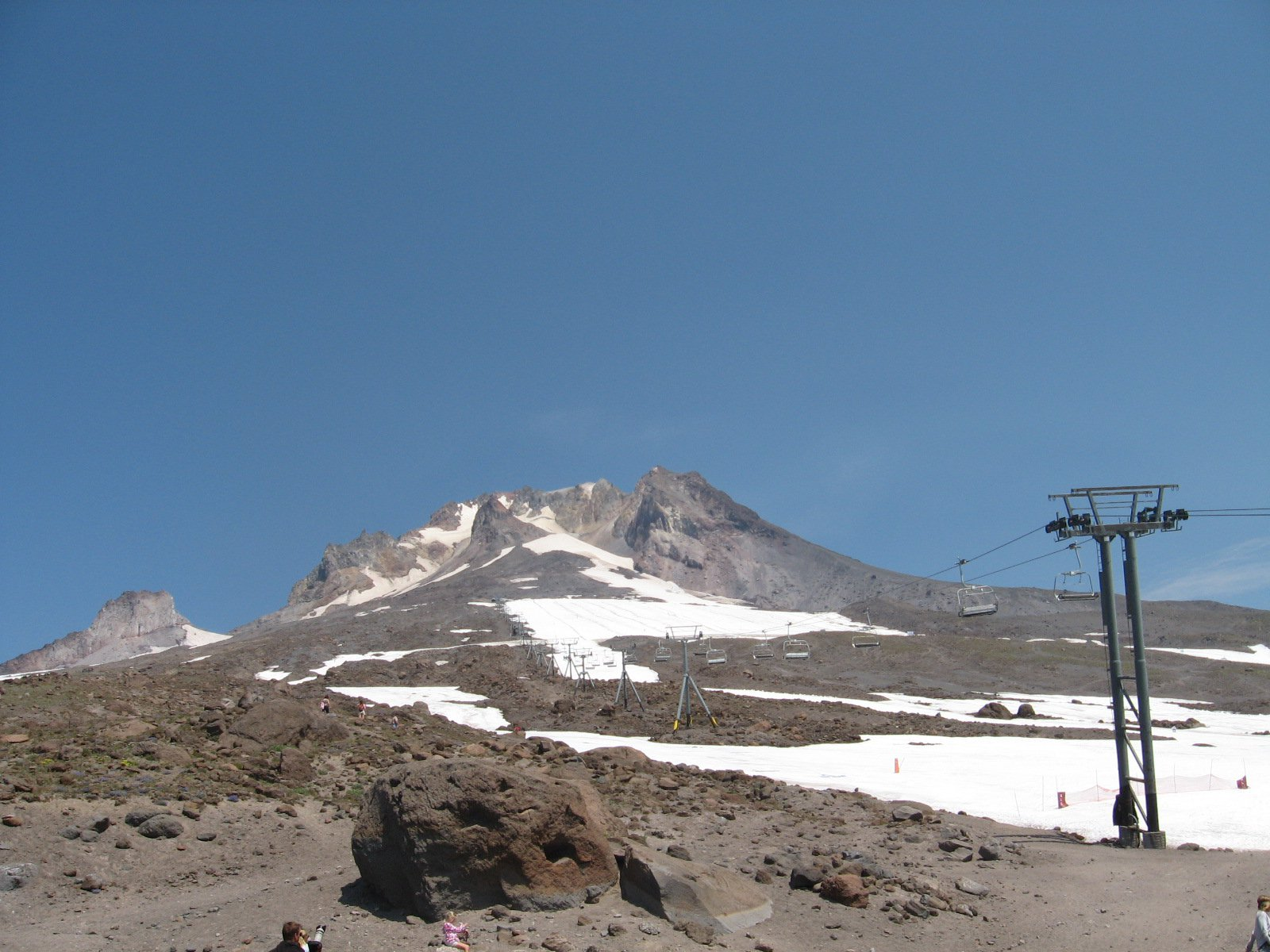 Timberline Lift in summer