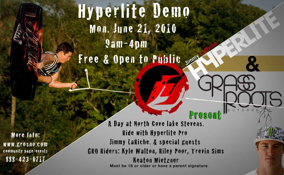 GRO Hyperlite Demo w/ pro Jimmy LaRiche