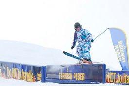 Tyrkisk Peber railjam 3 place