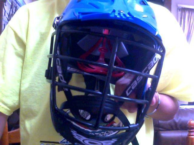Lax helmet 2