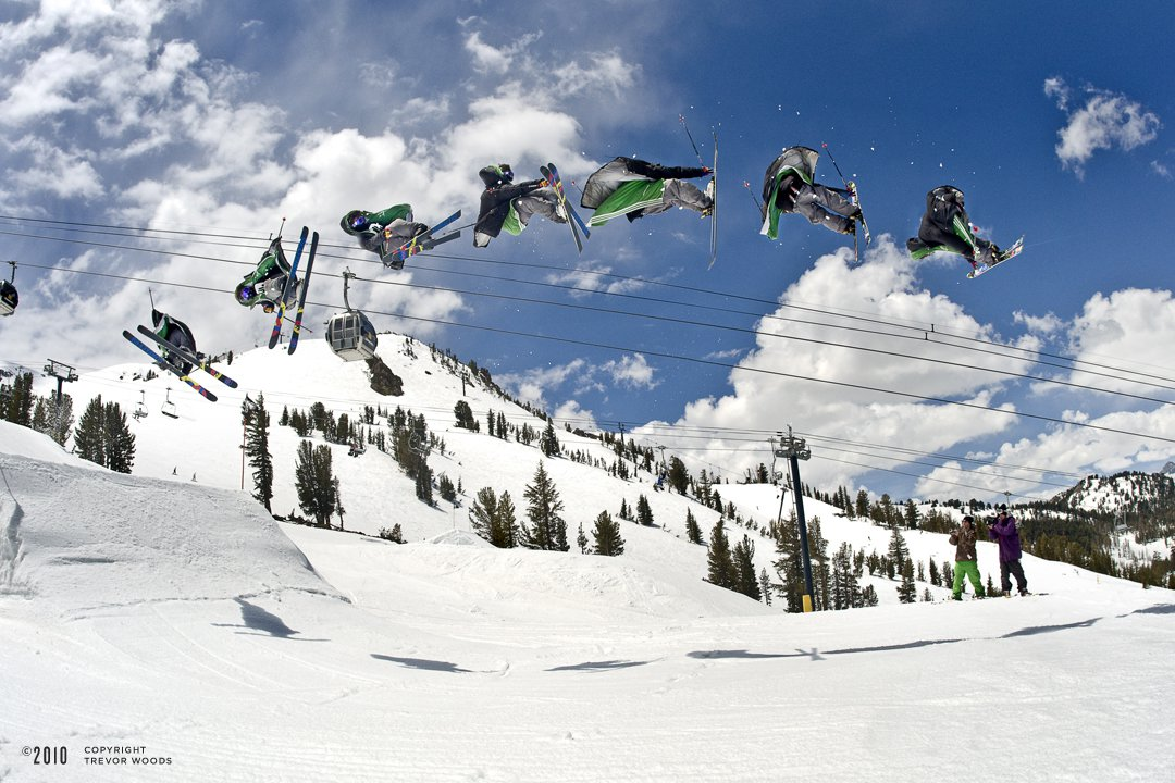 Andy Holson in Mammoth