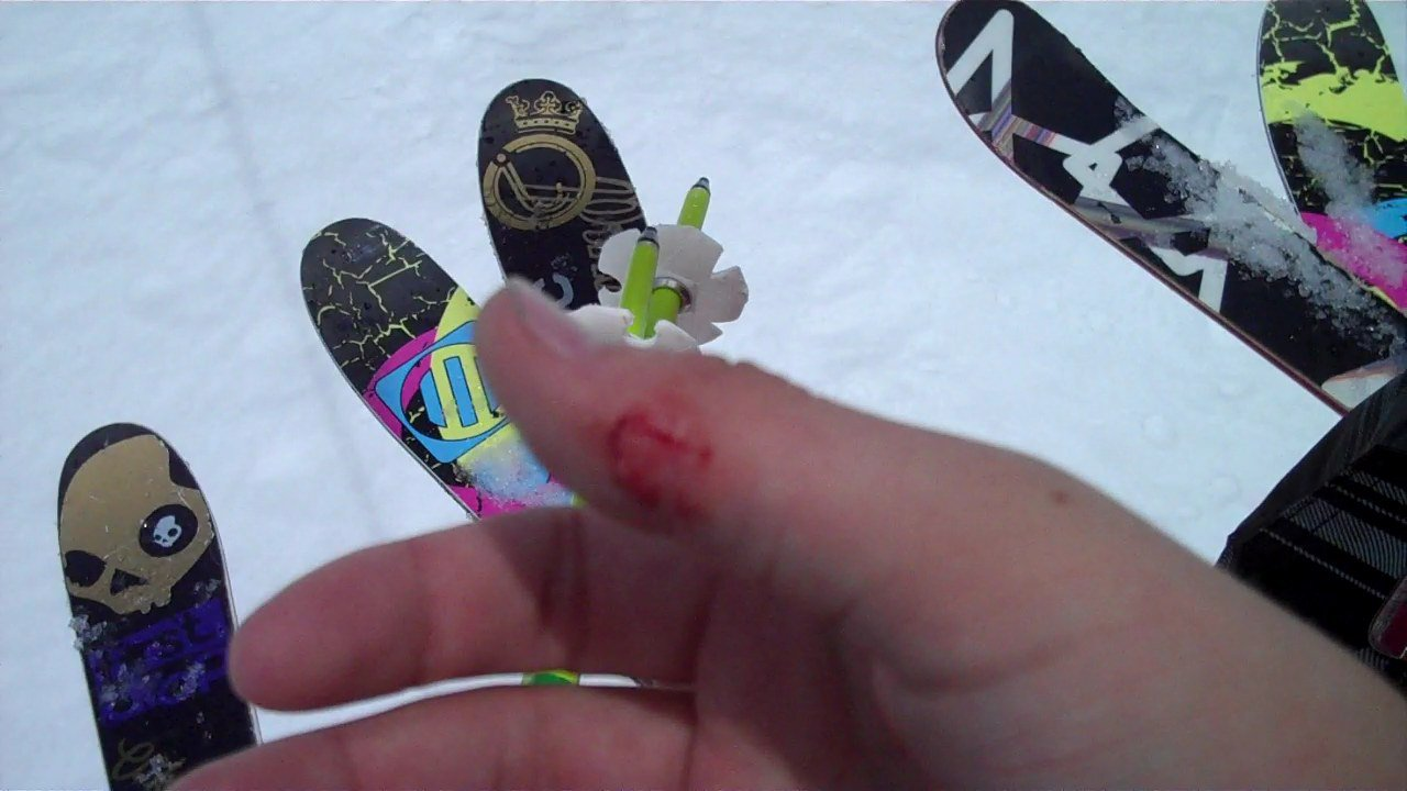 Damn skis