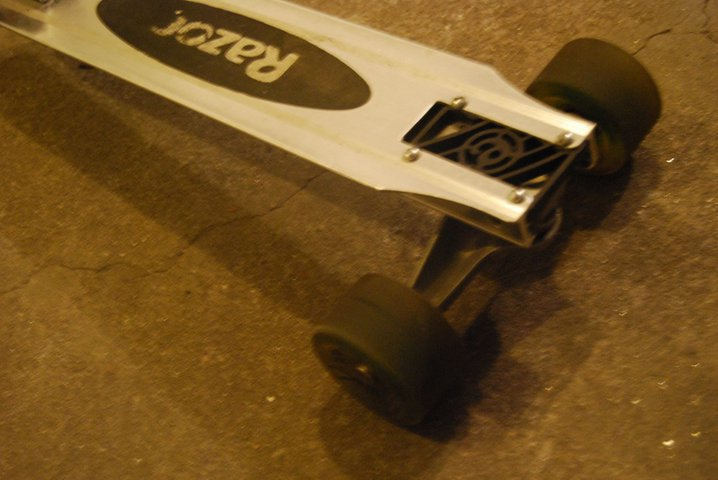 Final Profuct Carving Scooter