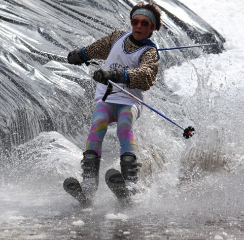 Me in the slush cup this year