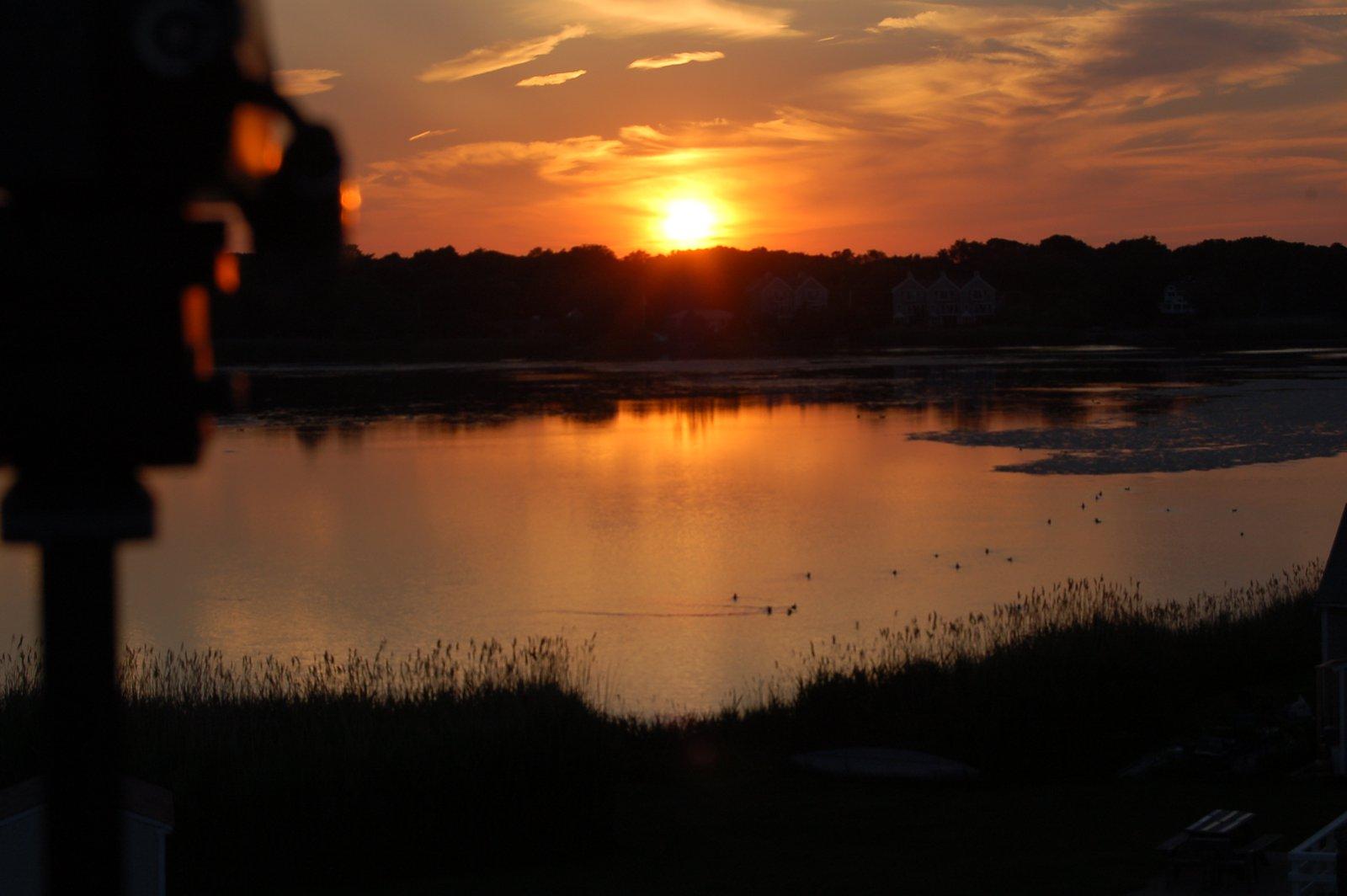 Sunset w/ Camera
