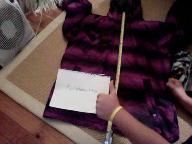 Xl orage black and purp baldwin jacket SALE
