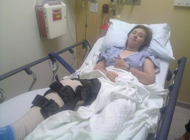 Torn acl and meniscus