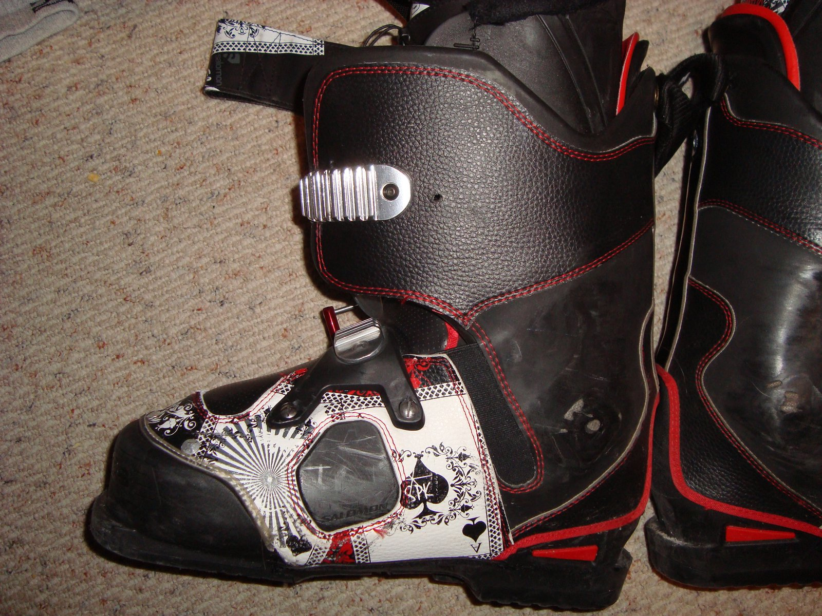 Front of boot