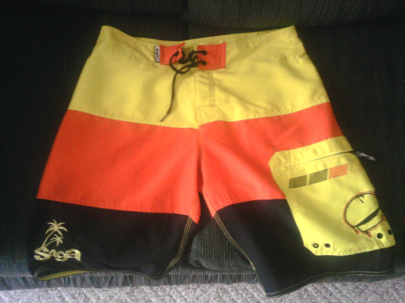 FS: Saga Board Shorts Size 32