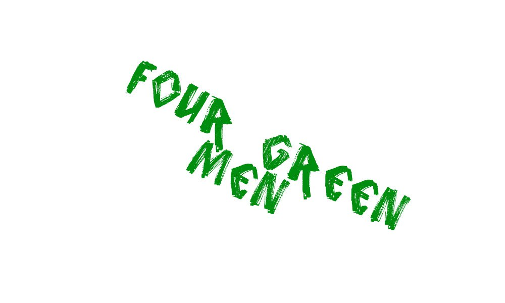 FOUR GREEN MEN