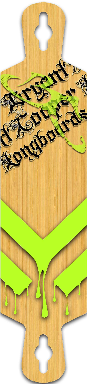 Longboard graphic