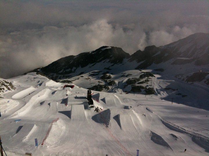 The New, Larger Camp Terrain Park