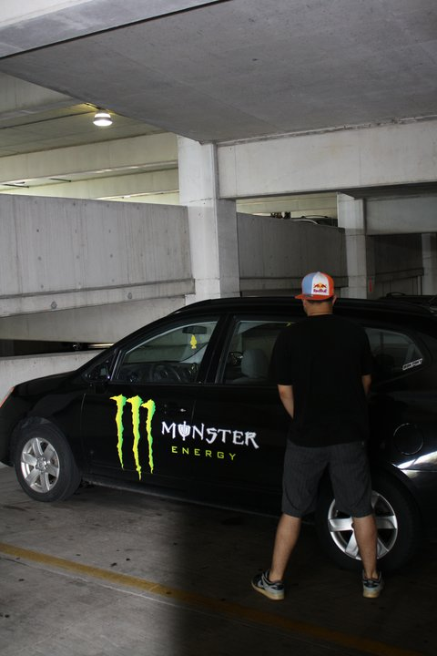 Piss on monster