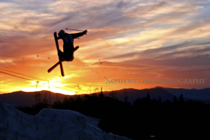 Jump Out Of The Pipe Steamboat Sunset