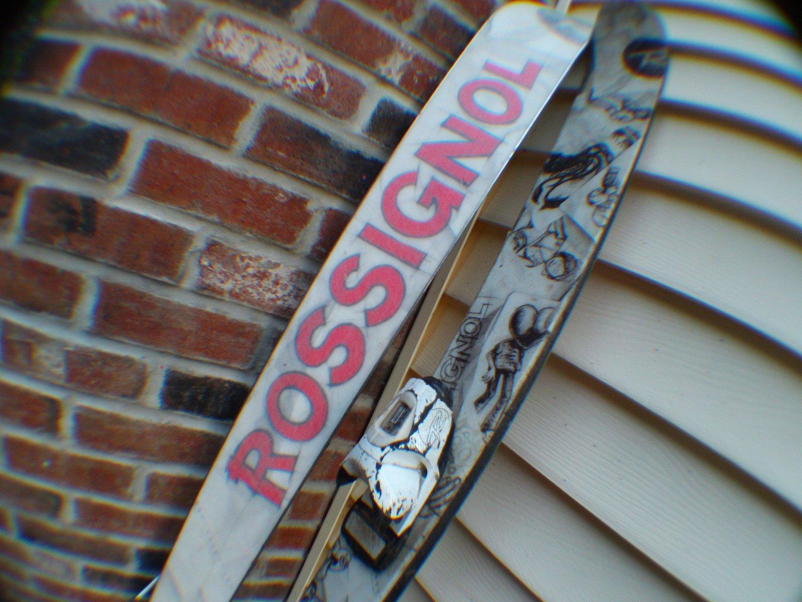 My Rossignol S3's