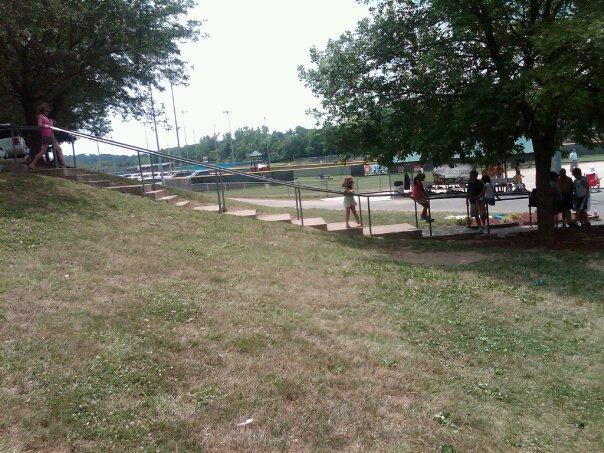 Ellisville Ballpark Rail