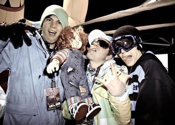 Drunk at the Grand Rapids Downtown Rail Jam 2010