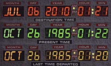 Back to the Future!!! Where's Marty!??