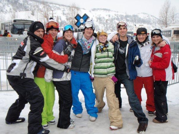 Group at X Games
