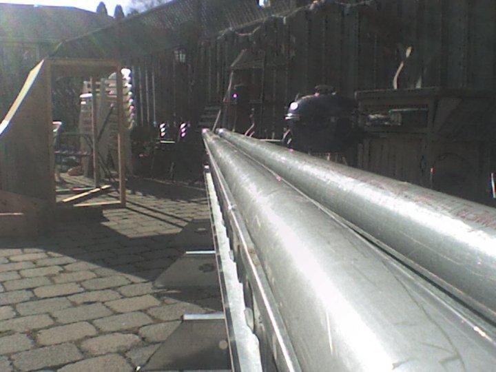 Rail finished