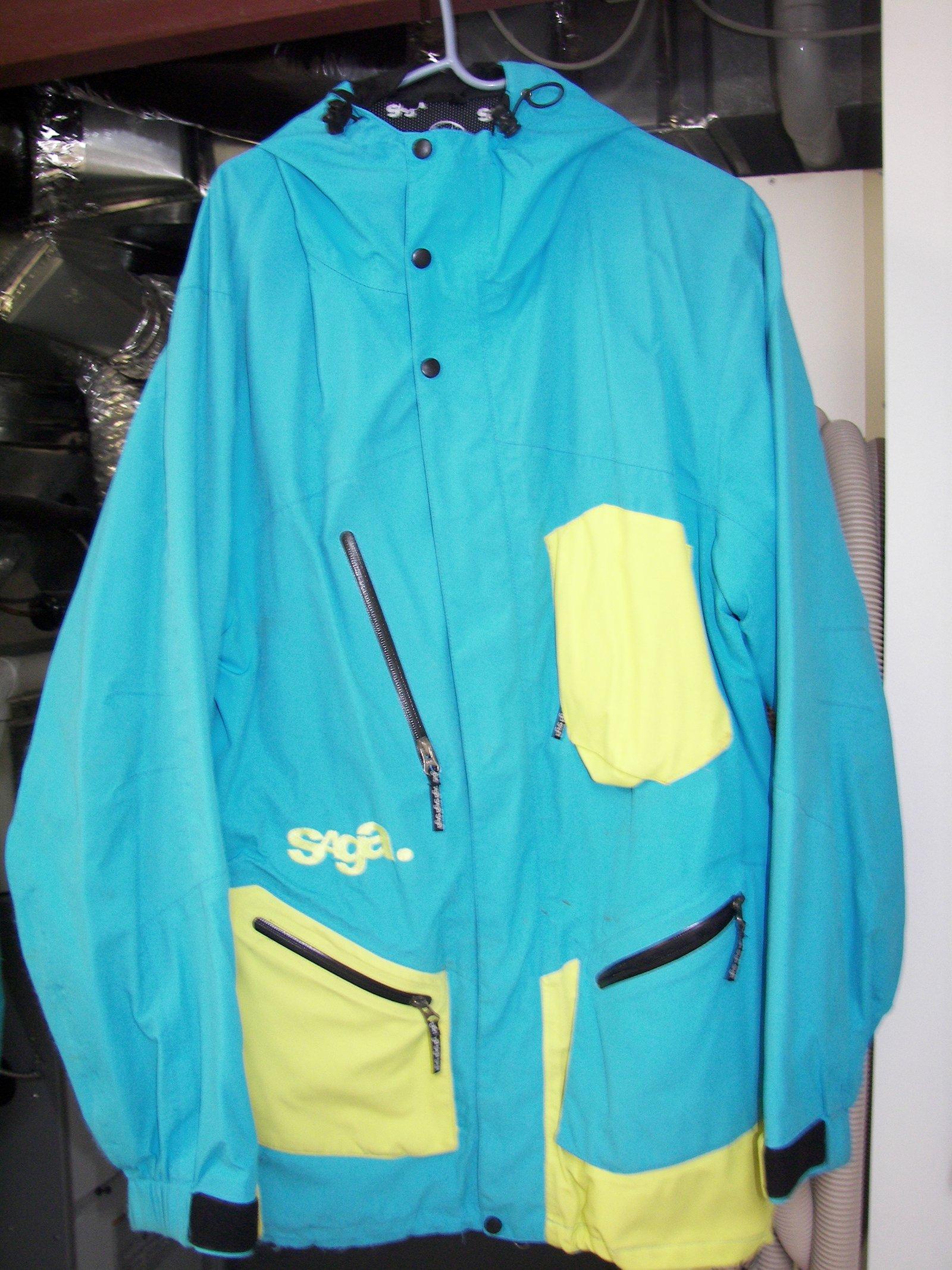 Large Saga Hybrid Jacket