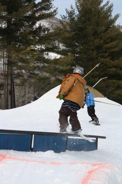 Sheding the snow bowl