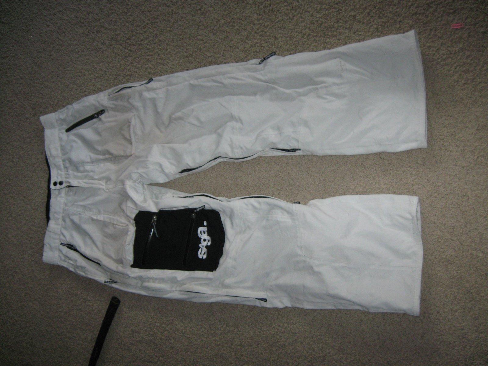 Saga Tuxedo Pant Large