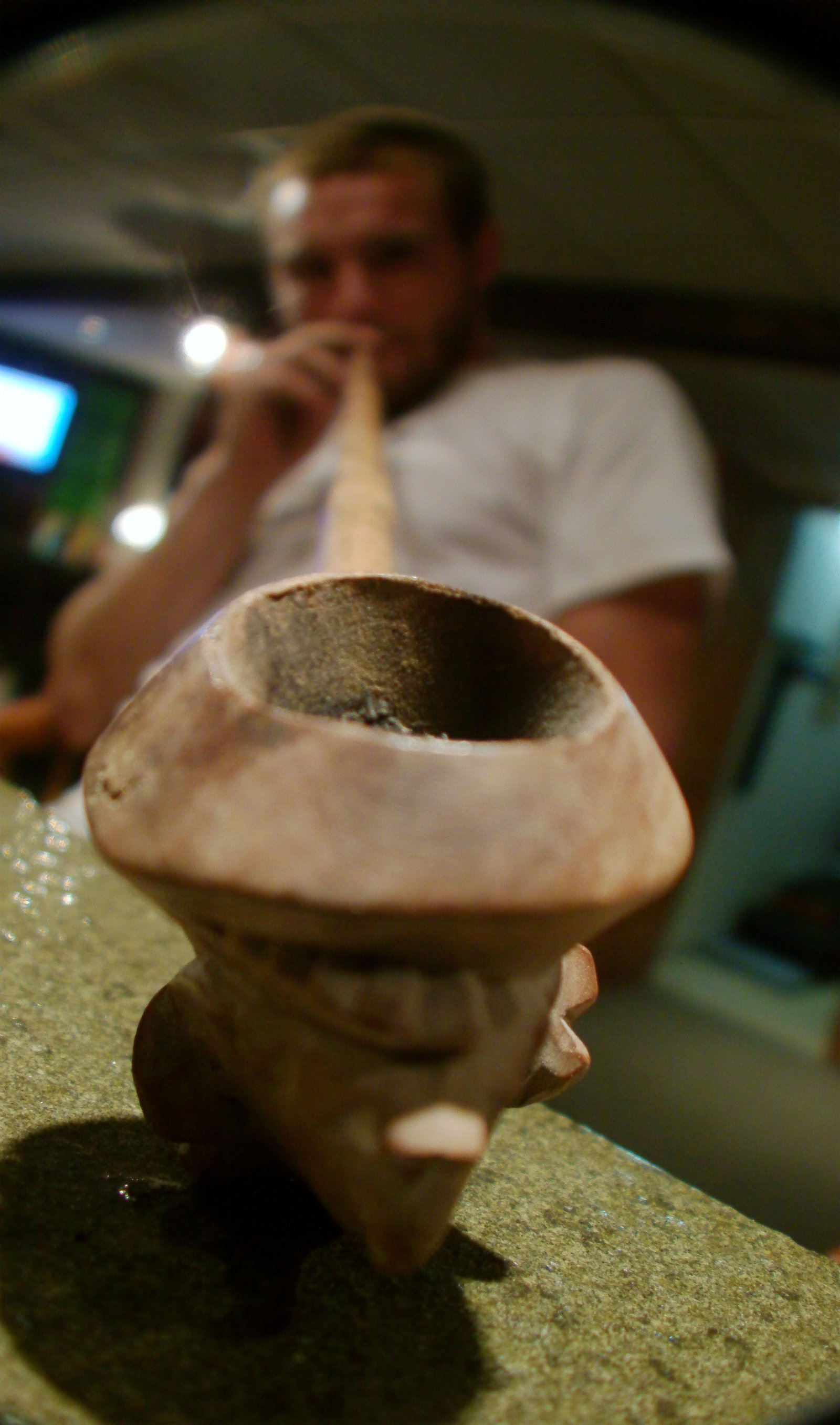 THE peace pipe