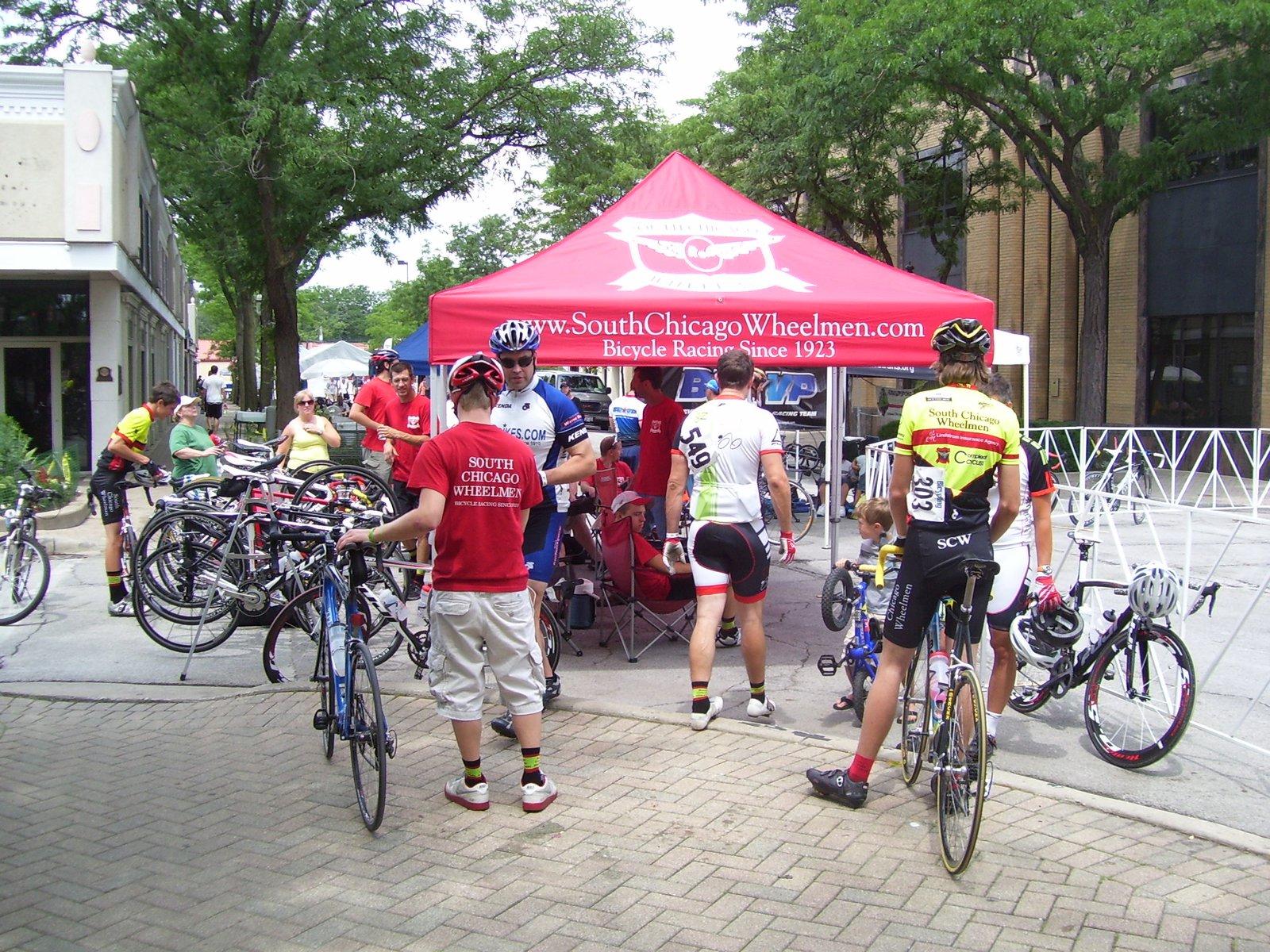 Homewood days women's cycling race
