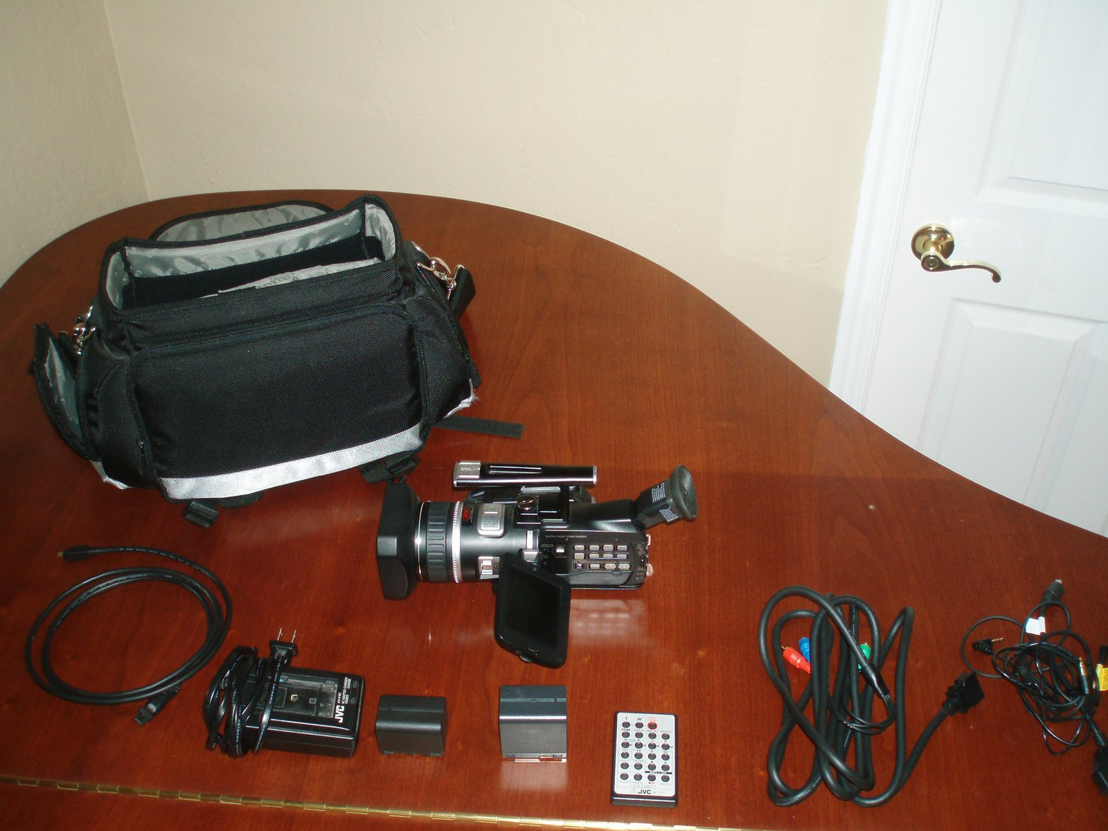 JVC hi def camera package