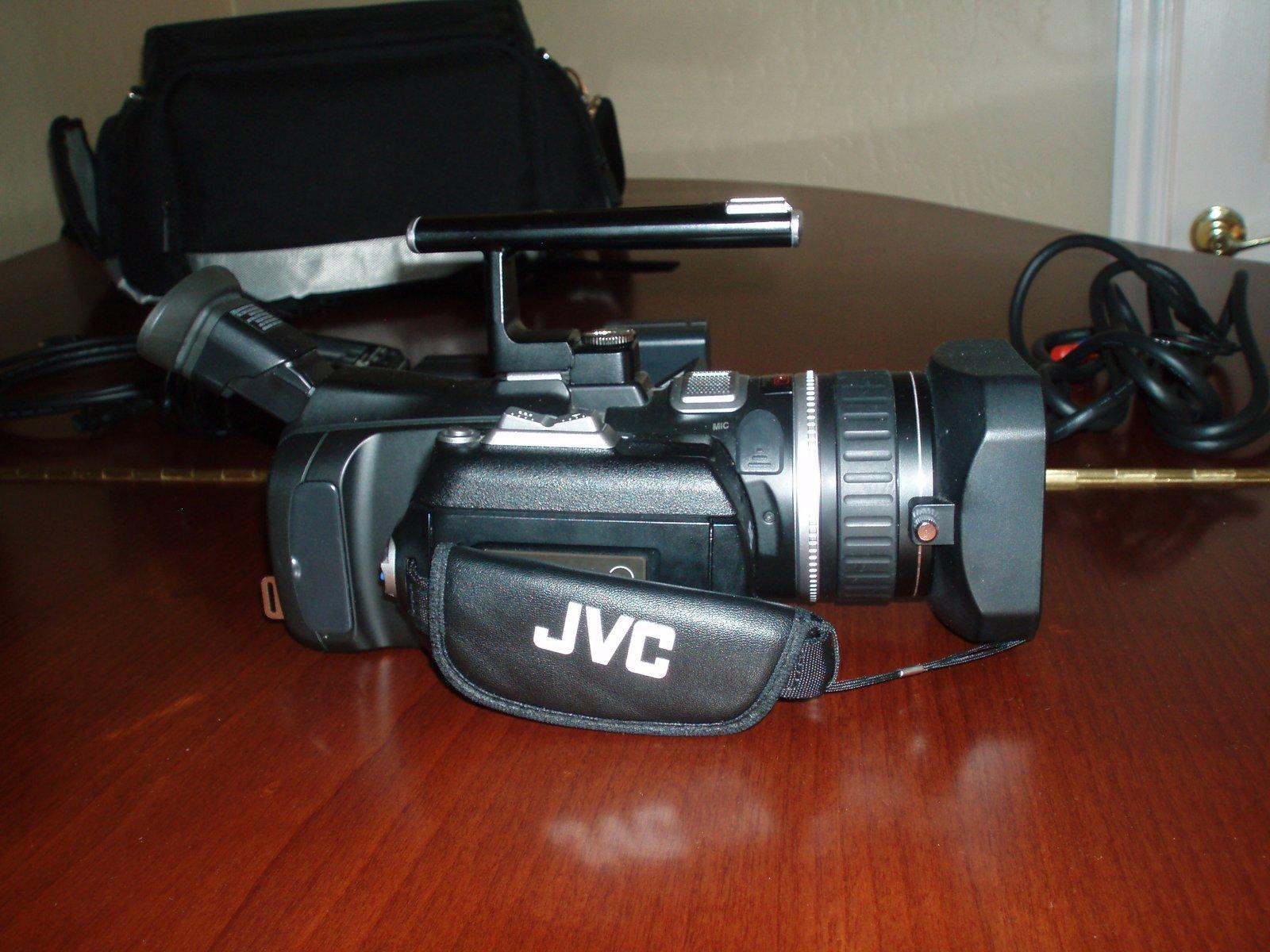 JVC hi def camera