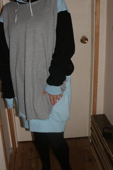 Hidden pocket hoodie