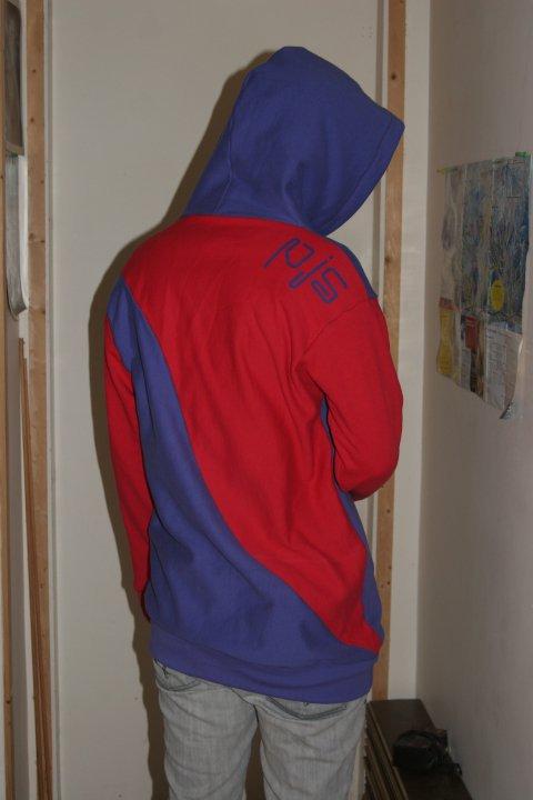 PJS logo hoodie