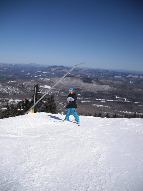 Chillen at Stratton VT