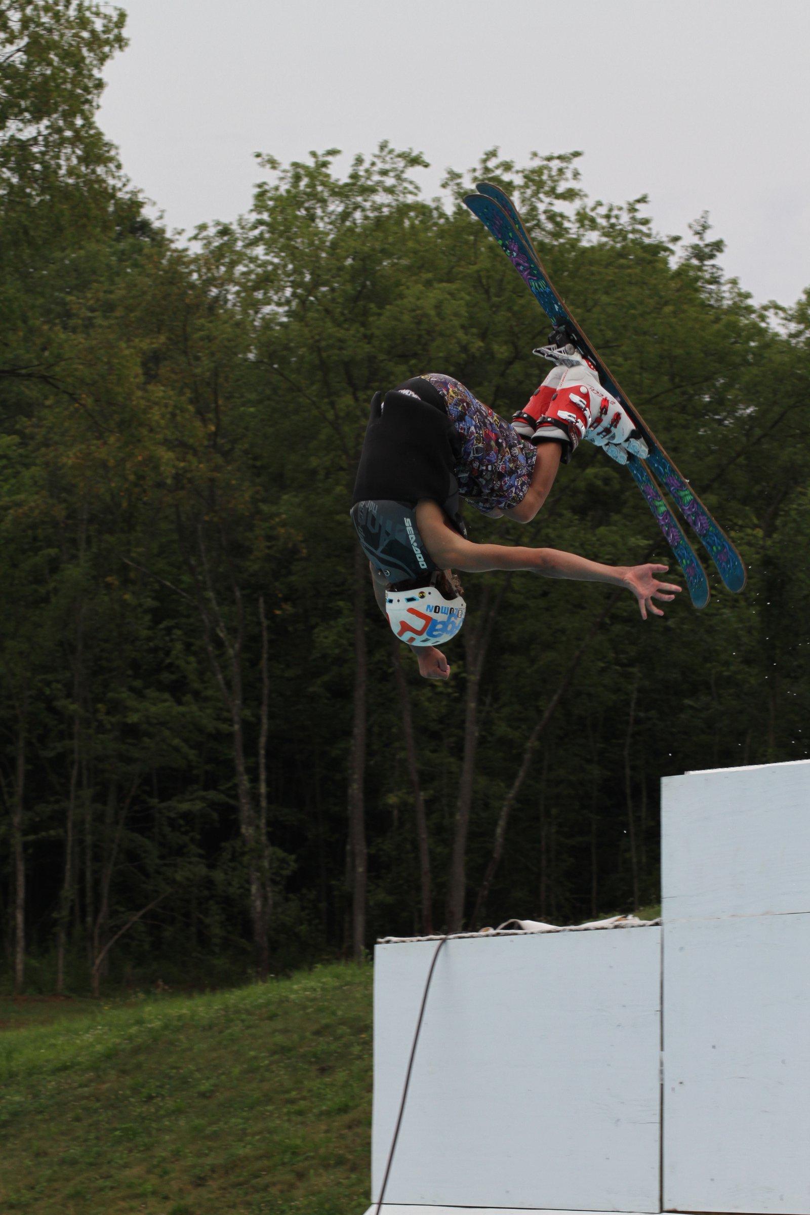 Evan Deller Front Flip