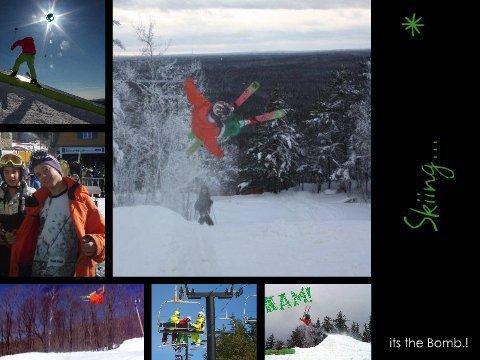 Ceddy Blaizz Skiing