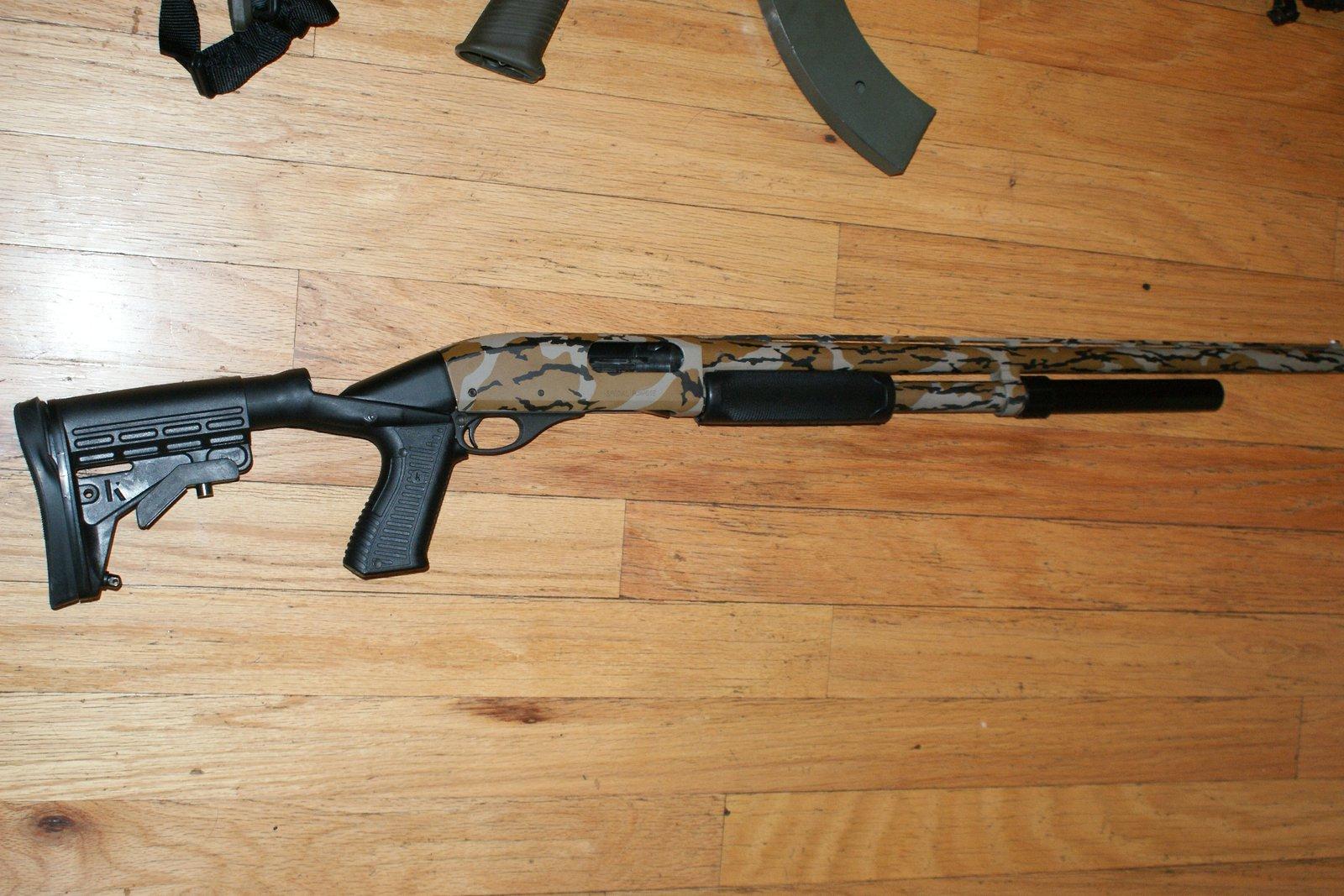 Rem 870 tactical
