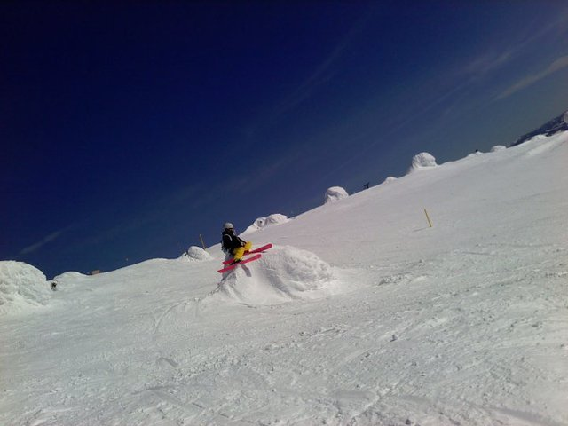 The Rare Snowghost Climber