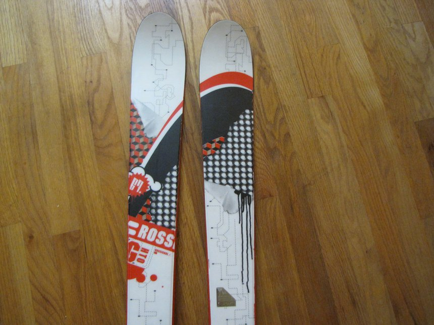 2008 Rossignol Ghetto skis 167cm
