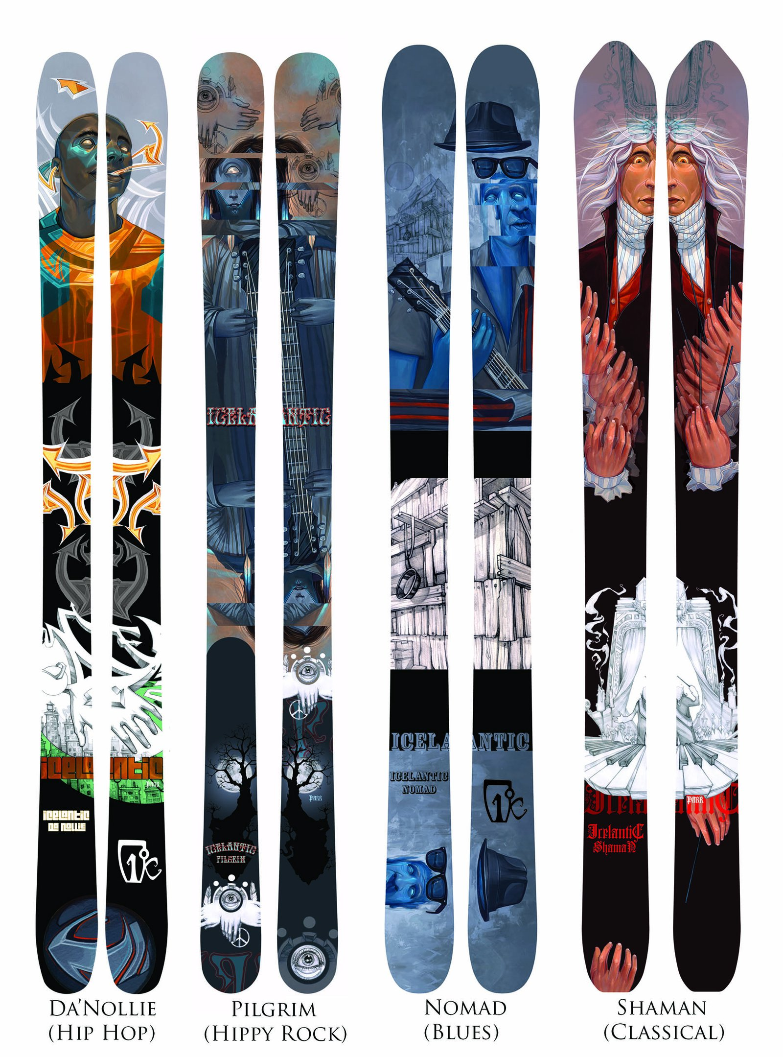 10-11 Skis