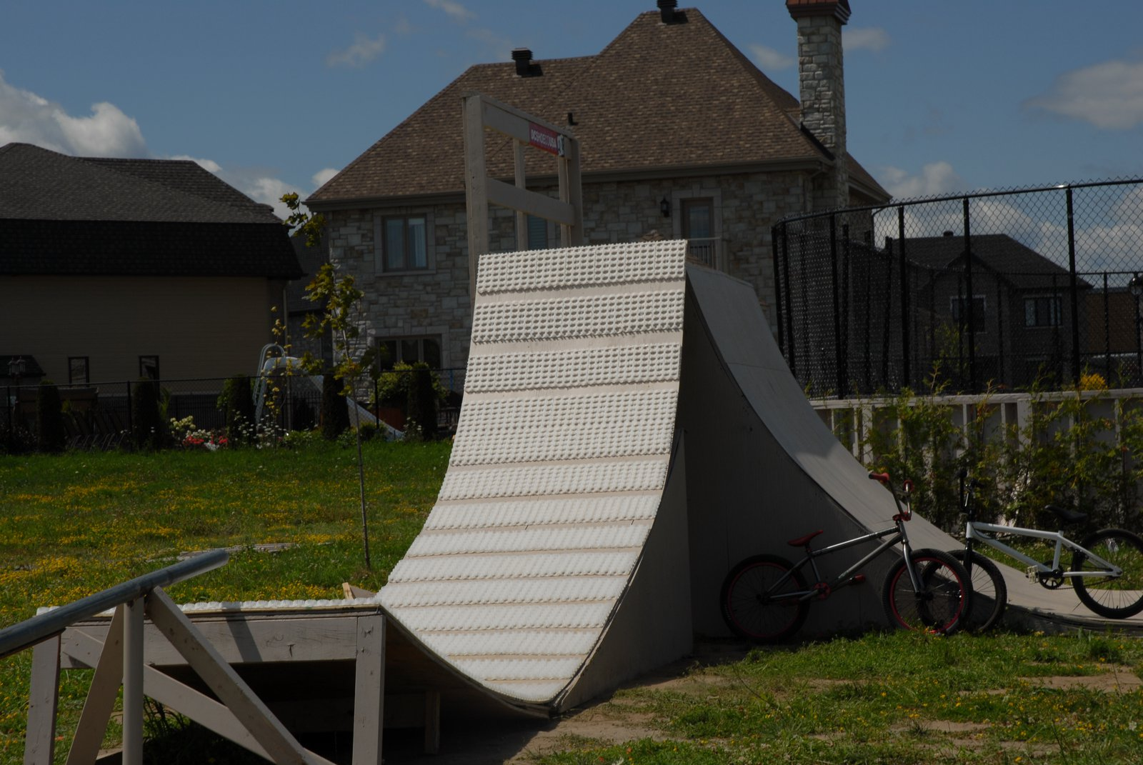 Msnow backyard