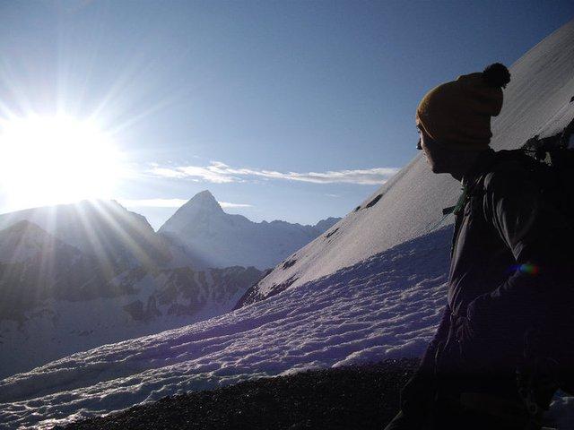 Sunrise in Switserland