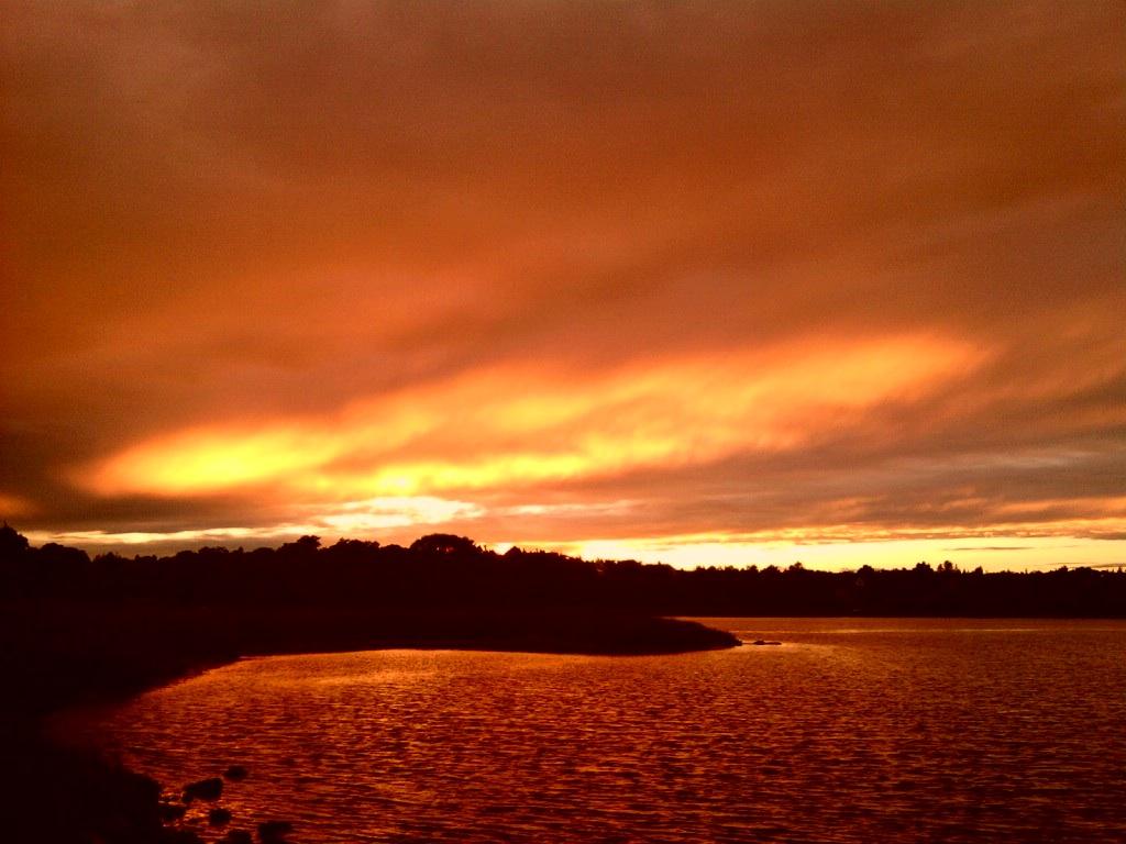 Super Red Sunset