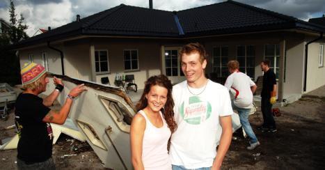 """The """"lucky """" couple"""