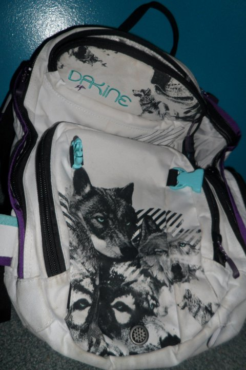 Dakine Wolfe Ski Pack, Fur Lined Goggle Pocket etc...
