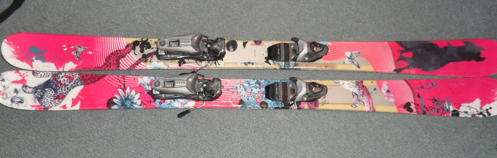 151 LINE Celebrity All Mountain Twin Tip Skis