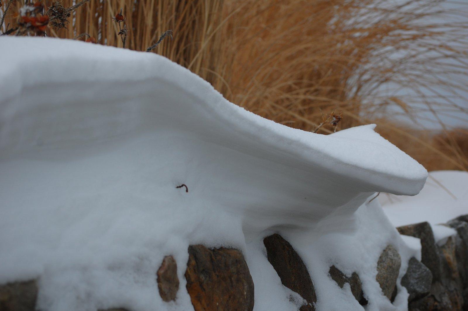 Awsome snowdrift