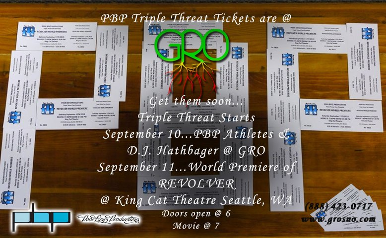 PBP Triple Threat Tickets