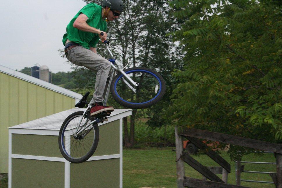 Small bmx jump