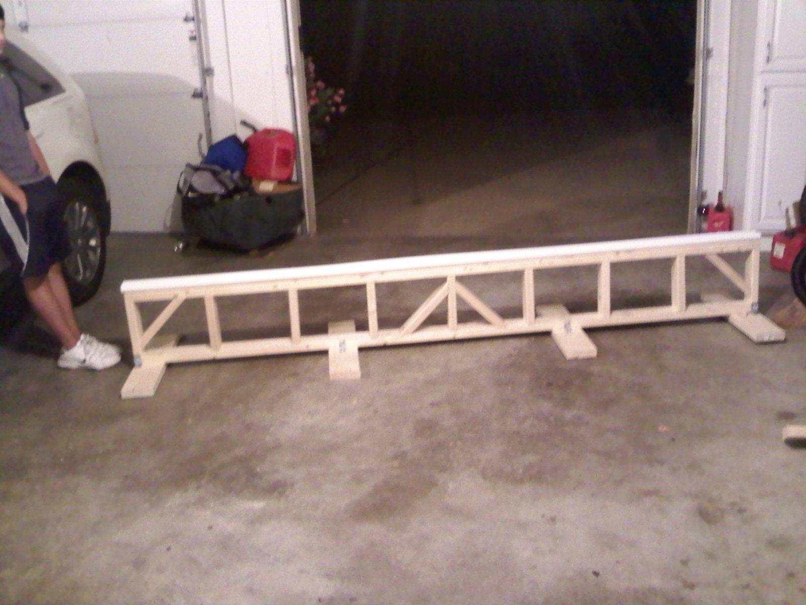Ten foot shotgunn rail